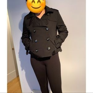 H&M Divided double-breasted black jacket